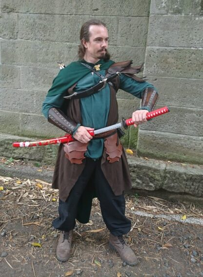 Red Dragon Samurai Sword