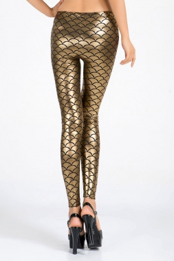 Gold Dragonscale Leggings