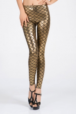Gold Dragon Leggings