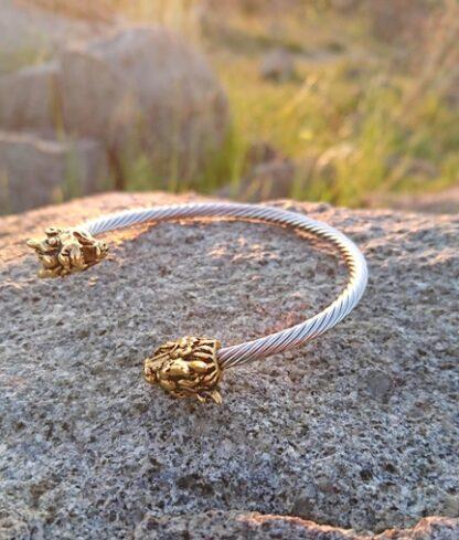 Dragon head bracelet