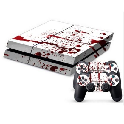 Playstation 4 wrap Blood