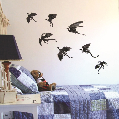 Dragon 3d Wall Sticker