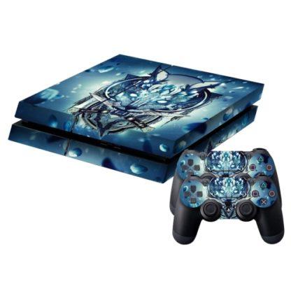 Playstation 4 wrap Wolf