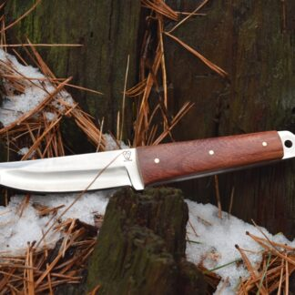 Rosewood Handled Hunting Knife