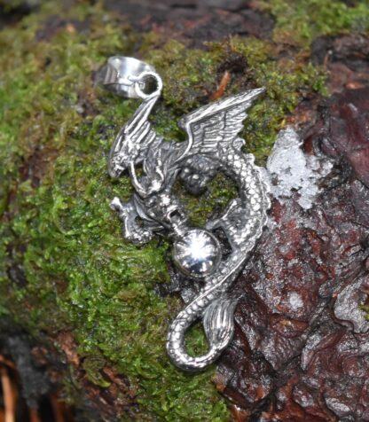 Dark Dragon Pendant