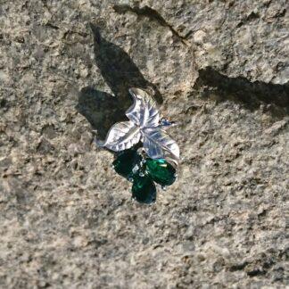 Elven Green Leaf Pendant