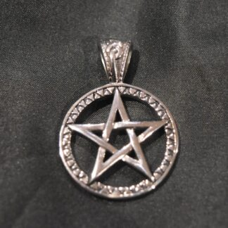 Stainless Steel Pentagram Necklace