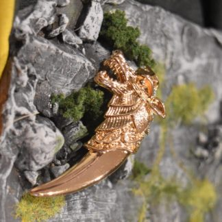 Gold Wolf Fang