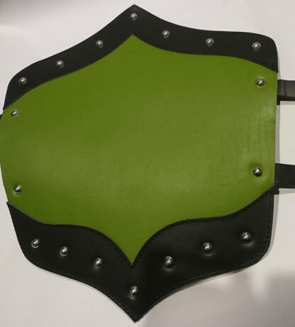 Green and black leg Armour