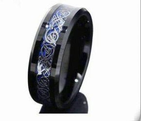 Black Dragon Ring