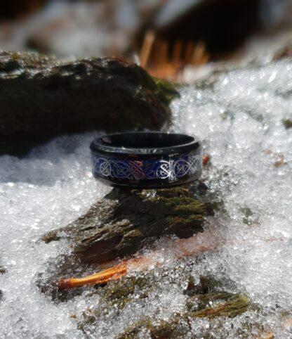 Titanium Dragon Ring