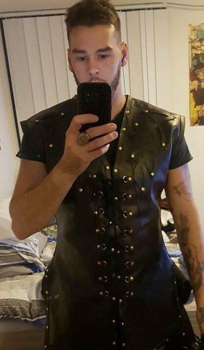 leather Celtic Vest