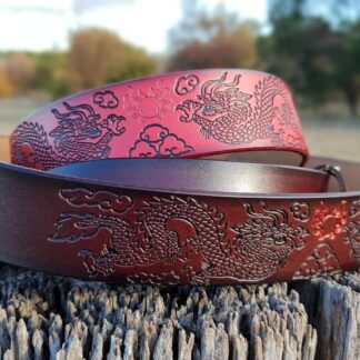 Leather Dragon Belt
