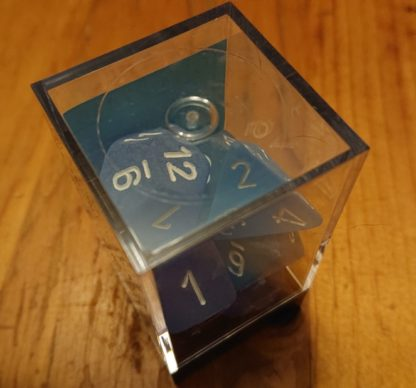 Chessex Blue PolyHedral Dice