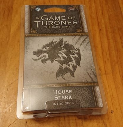Game of Thrones house stark Intro Deck