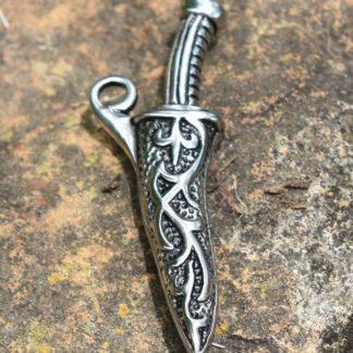 Sheathed Dagger Pendant