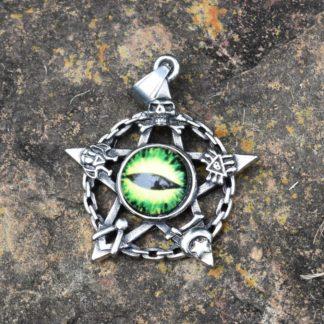 Goblin Pentagram Pendant