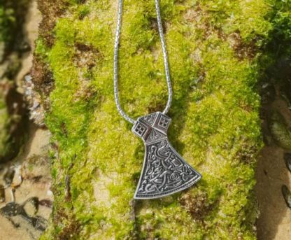 Viking Axe head Necklace