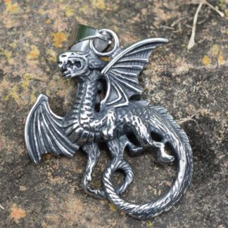 Flying Dragon Pendant