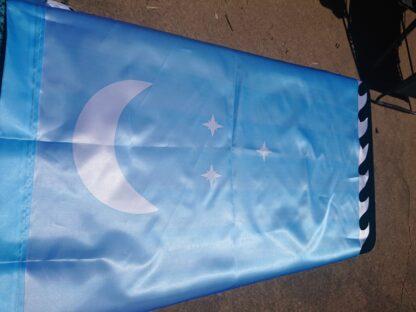 Blue Larp Banner