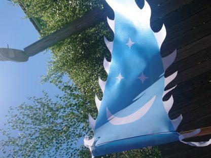 Blue Larp Flag
