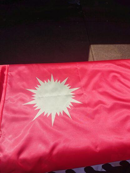 Red War Banner