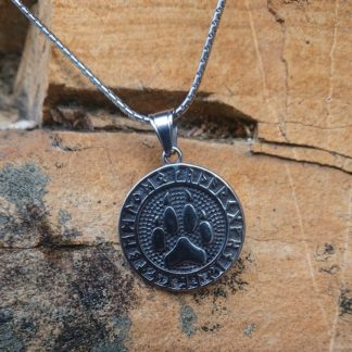 Viking Wolf Necklace