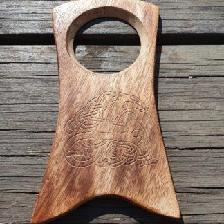 Wooden Horn stand