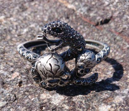 Black Snake Bangle