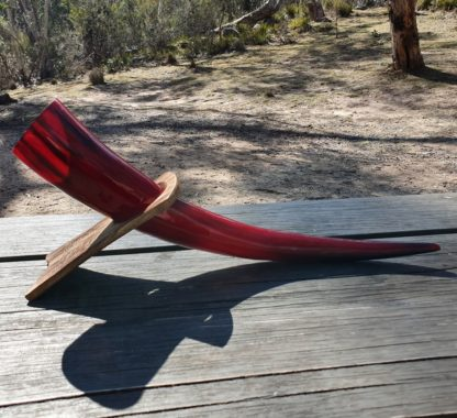 Red Drinking Horn