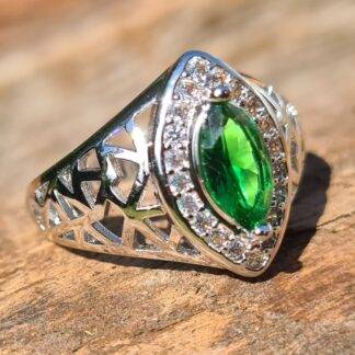 Green Elven ring