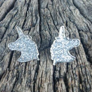 Sparkling Unicorn Earrings