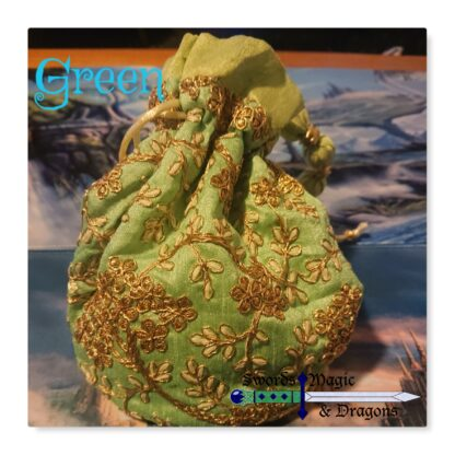 Green Dice Bag