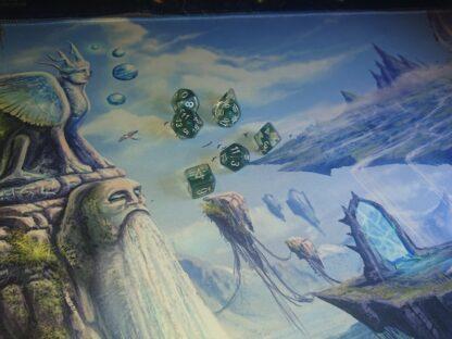 Island game mat
