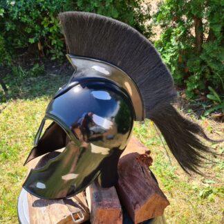 Trojan Helmet with Crest