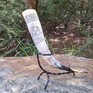 Natural Dragon Drinking Horn