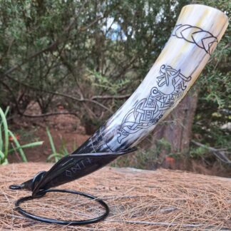 Small Runic Dragon Horn