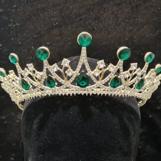 Royal Emerald Tiara