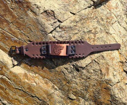 Copper Wolf Bracelet