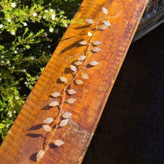 Vine Leaf hairpiece