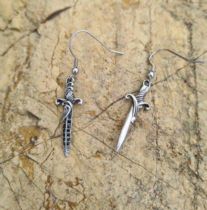 Dagger Drop Earrings