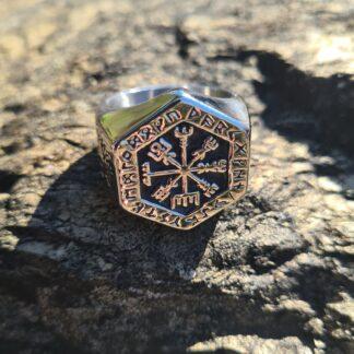 Viking Compass Ring