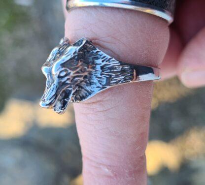 Wild Wolf Ring