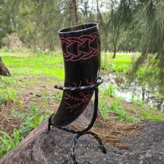 Helm of Awe Drinking Horn