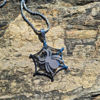 Drow Spider web Necklace